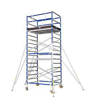 Mobile Aluminum Scaffold Tower For Boilers - Scaffolding